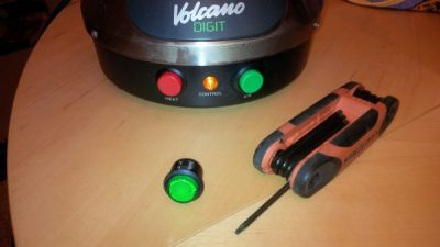Volcano Vaporizer Switch Replacement (Classic and Digit)