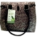 Koko Urban Lunch Tote Gray/Black Animal Print