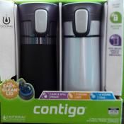 2 Pack Contigo Pinnacle Thermal 14 oz (White)