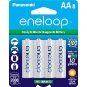 AA eneloop 8 Pack 2100 Cycle Battery
