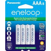 AAA eneloop 8 pack 2100 Cycle Battery