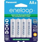 AA eneloop 8 Pack 2100 Cycle Battery (old stock)