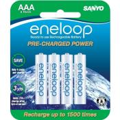 Sanyo eneloop AAA 8 pack 1500 Cycle Battery (old stock)