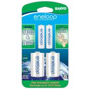 eneloop D adapters with 2 AA